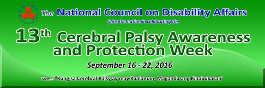Cerebral Palsy Awareness and Protection Week