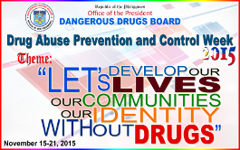 Drug Abuse Prevention and Control Week