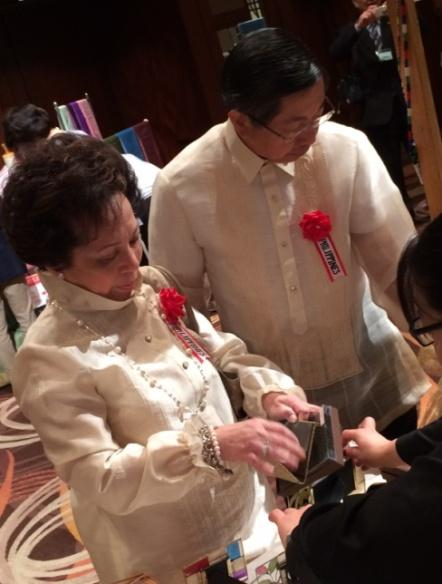 Philippine Embassy in Tokyo Joins Asia Pacific Ladies' Charity Bazaar