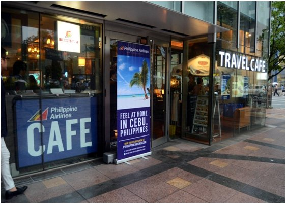 Philippine Airlines Open Travel Cafe in Tokyo To Promote Tourist Travel
