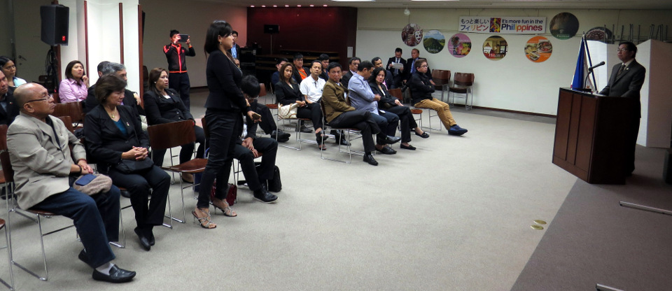 Embassy Conducts Briefing for Vice-Mayors on PH-Japan Relations