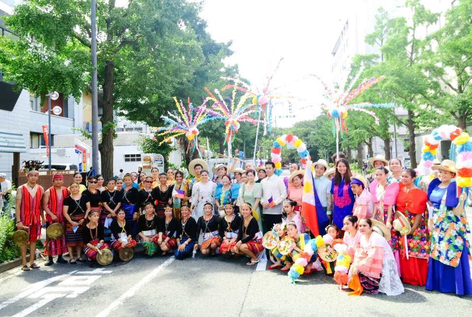 Philippines Participates in Yokohama Sparkling Twilight Parade 2015