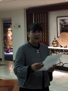 Minister and Consul-General Jocelyn R. Tirol-Ignacio leads the women workforce of the Philippine Embassy in Tokyo.