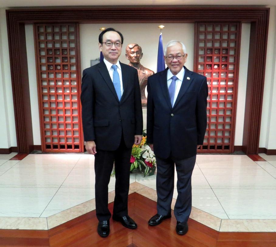 Incoming Japanese Ambassador to the Philippines Koji Haneda