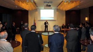 Ambassador Jose C. Laurel V delivers his opening remarks.