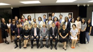 His Excellency, Ambassador Jose C. Laurel V, in his message, conveyed the Embassy's congratulations and support to the students for their outstanding achievements and shared the experiences of his very own father, Former Philippine Ambassador to Japan, Jose S. Laurel III, as the first-ever Filipino in Japan to graduate in the prestigious Japanese Imperial Military Academy.