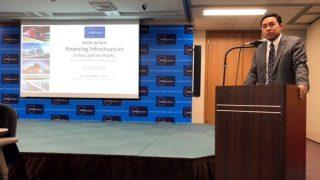 Secretary Mark Villar as keynote speaker for ADBI Book Launch on Financing Infrastructure