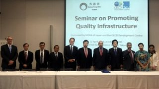 Undersecretary Rolando Tungpalan of NEDA joins panel for Seminar on Quality Infrastructure