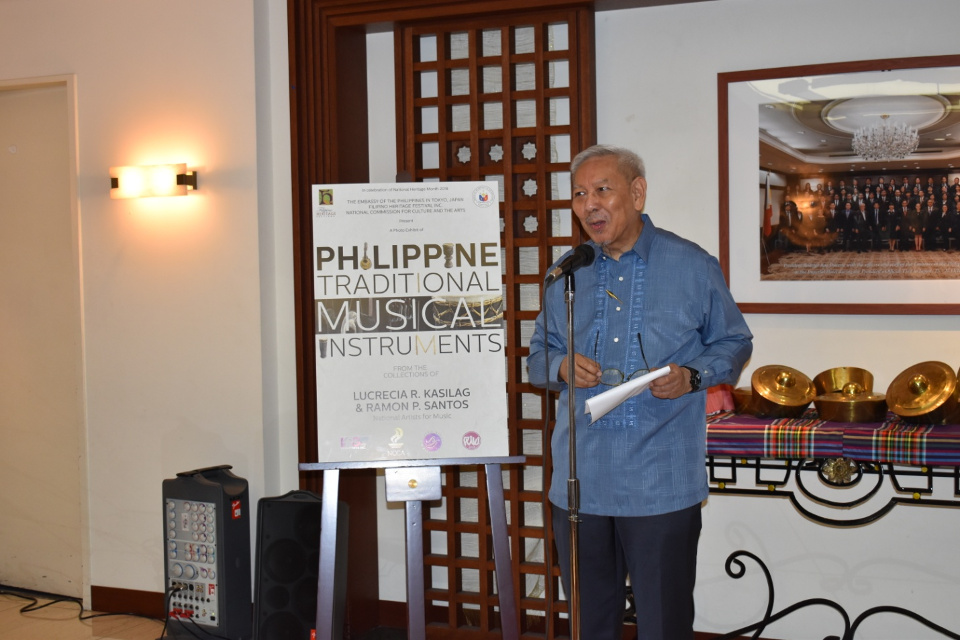 National Artist for Music, Dr. Santos shares insights about importance of knowing our Philippine traditional musical instruments.