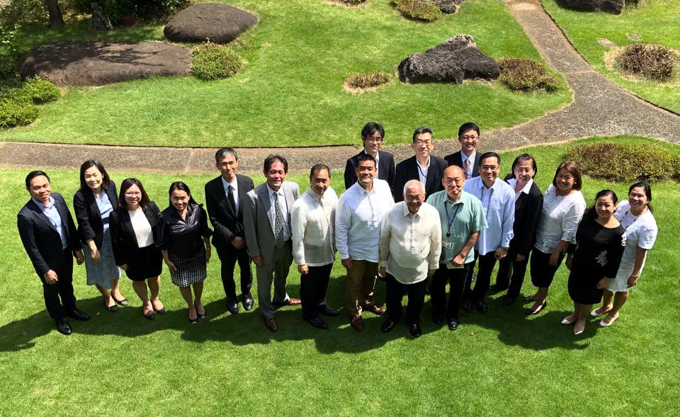 The Philippine Embassy, Ministry of Foreign Affairs, and JICA during the Philippines-Japan Friendship Day Lunch on 23 July 2018.