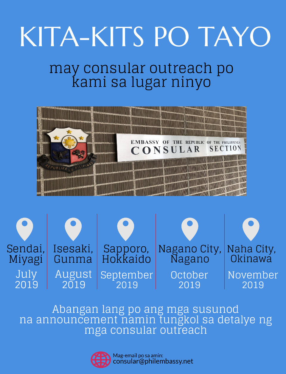 Consular OUtreach 2019