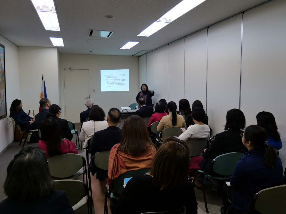 Atty. Abad shares her expertise on latest trends and developments in Philippine laws on women.